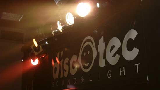 Drive-in Lightning wordt DiscoTec Sound & Light